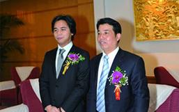 彭建国董事长与柬埔寨王子合影留念