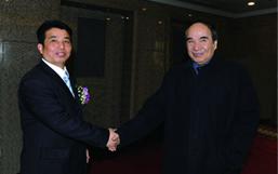 全国政协副主席阿不来提·阿不都热西提亲切接见彭建国董事长