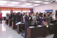 """东方昊为-""""华企在线商学院-成立仪式"""""""