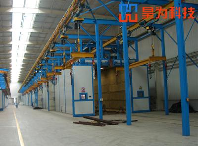 工程机械涂装生产线