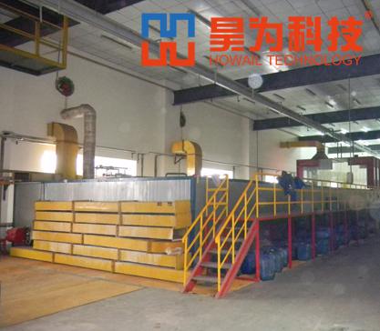 硅烷生产线