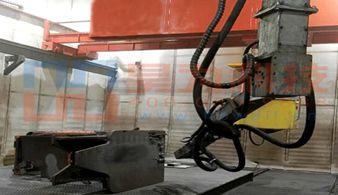 龙门九轴涂装喷砂机器人